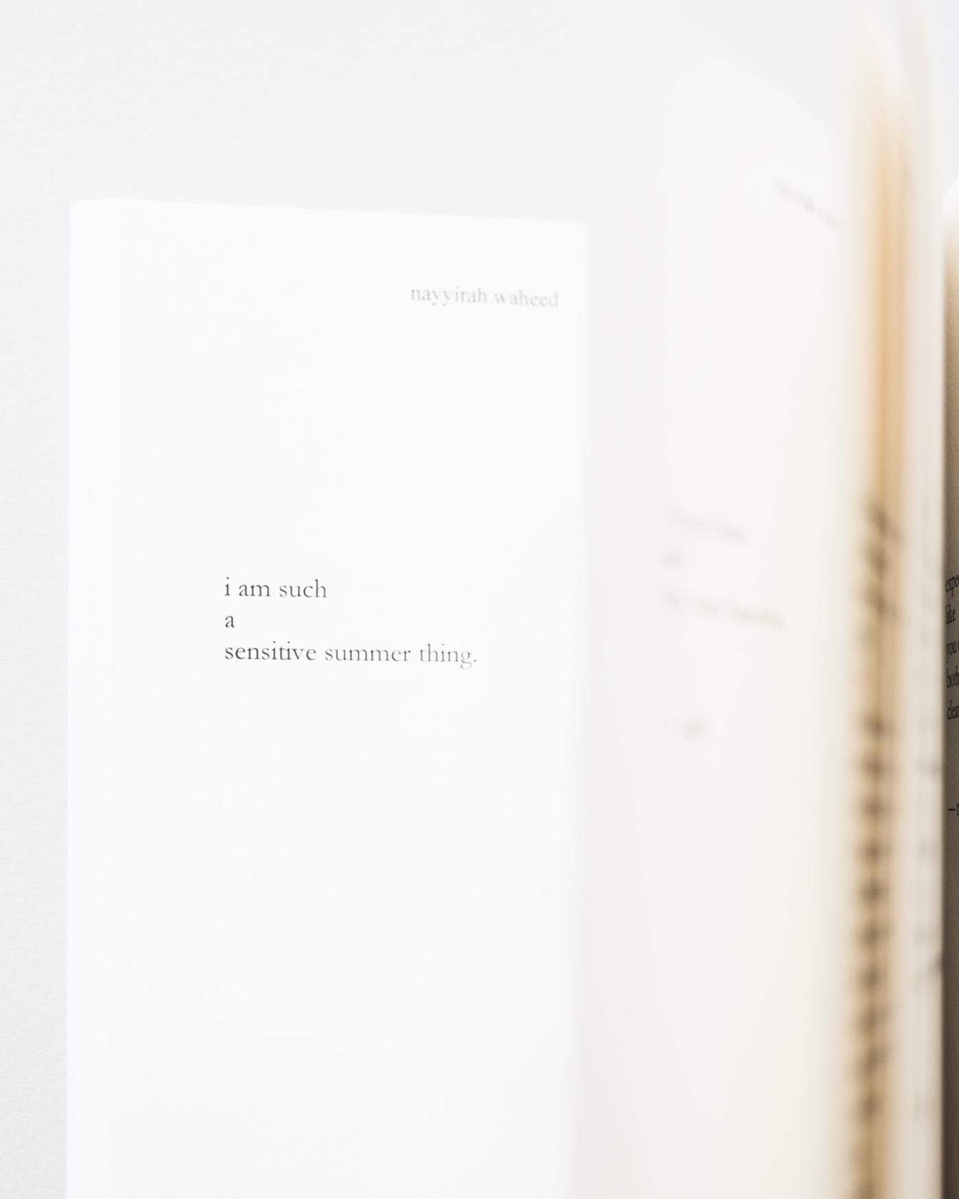 salt nayyirah waheed For those days when you just need to read something beautiful to purchase her book, visit nayyirahwaheedcom don't miss anything subscribe to flo & frank .
